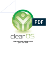 ClearOS-Quick Start Guide