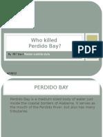 Who Killed Perdido Bay?