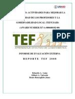 Tef Report Es
