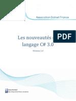 Les nouveautés du langage CSharp 3.0