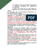 Formada La Primera Junta de Gobierno en Buenos Aires[1]