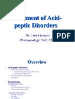 Treatment of Acid-Related Disorders_ Seminar