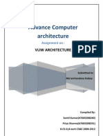VLIW Architecture