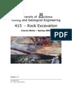 Rock Excavation Arizona