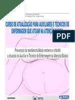 Capa Atualização materno Atenção Básica