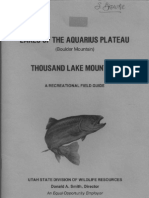 Lakes of the Aquarius Plateau UtahDWR 1974