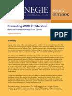 Preventing WMD Proliferation