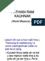 9 ( Pathian Ram Khuahnak)