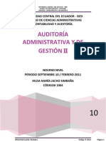 Auditoria Administrativa y de Gestion 2 Modelo 1