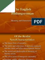 The English Bildungsroman