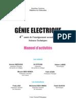 GÉNIE ELECTRIQUE 4ème S  T  Manuel d' activité.pdf