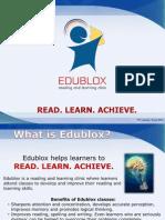 Edublox 27 March Presentation