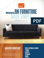 Gus* Modern | Fall 2012 Collection | Modern Furniture Made Simple