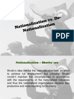 PEP - Nationalization vs de-Nationalization