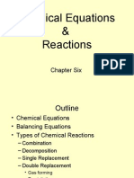 Chapter 6 Chemical Equations & ReactionsGuided