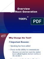 Copy of Ibt TOEFL Overview