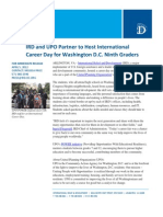 04-05 IRD and UPO Host International Career Day for Washington D.C. Ninth Graders