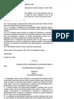 Ética - Decreto Municipal 13.319