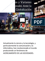 Retos y Variantes Profesionales Ante la Globalización