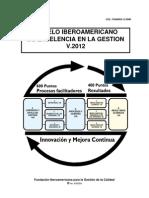 Modelo Iberoamericano General v 2012