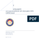 DA report on Oxnard public integrity investigation