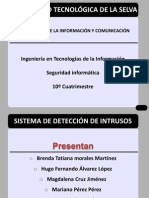 Sistema de Deteccion de Intrusos