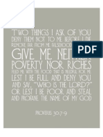 Proverbs 30 Printable From The Flourishing Abode