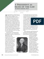 PCII - Enforcer of the Law (Scholar Essay)