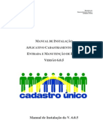 Manual Instalacao CadUnico V605