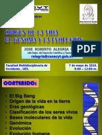 100507 RA El Origen de La Vida El Genoma y La Evolucion