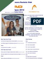 NZ Junior Open Fun Picture Parade 2012