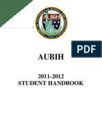 Student Handbook 2011-12