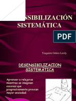 DESENSIBILIZACION SISTEMATICA