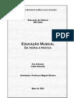 Educação Musical - Da Teoria à Prática