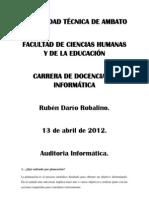 Ruben Dario Robalino