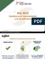 Licenciamiento SQL 2012