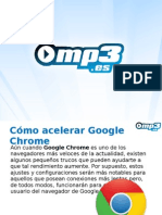 Chrome - Acelerar el navegador - Mp3.es