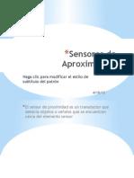Sensores de Aproximación