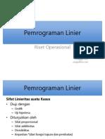 2 Pemrograman Linear