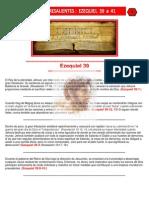 Puntos Sobresalientes de Biblia - Ezequiel 39 a 41