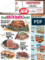IGA MI Coupons Circular 23 April 12 Michigan