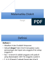 3. Matematika Diskrit - Fungsi