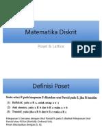 5. Matematika Diskrit - Poset