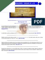 Puntos Sobresalientes de Biblia - Ezequiel 42 a 45