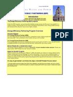 Pasadena Energy Efficiency Rebate Application 2008