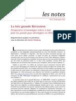 ofce perspectives économie mondiale 2012 actualisé