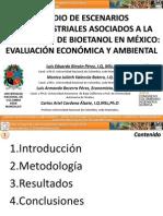 Estudio de escenarios agroindustriales para la producción de etanol en Mexico