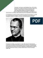 Biografía Gregor Mendel