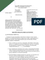 Moc Sol Sanciones CE & CA vs. Doral Bank Ets.