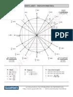 formulas gerais de trigonometria